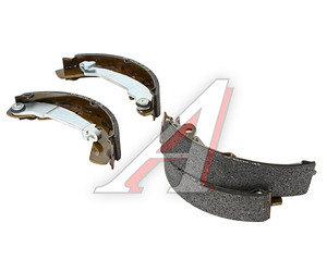 Колодки тормозные DAEWOO Matiz (98-) CHEVROLET Spark (05-) задние барабанные (4шт.) OE 96268686, GS8645