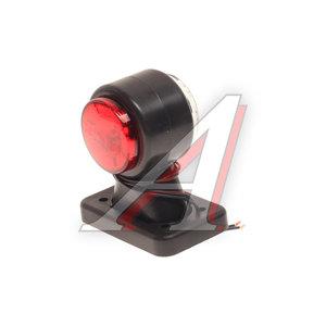 Фонарь габаритный и контурный белый/красный (хрусталик, светодиод) ЕВРОСВЕТ ГФ3.2LED1-20