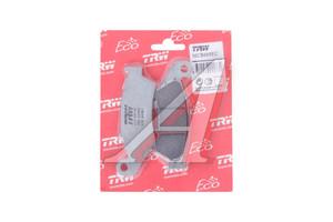 Колодки тормозные мото SUZUKI DR-Z400S/SM (WVBC/WVB8) (00-07) передние (2шт.) TRW MCB669EC