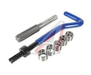 Набор инструментов для восстановления резьбы (вставки М10х1.25, L=13.5мм, 5шт.) 7 предметов JTC JTC-4947