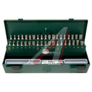 """Набор бит 1/2"""" 3/8"""" TORX T20-55 HEX H4-12мм SPLINE M5-12 2 держателя в кейсе 40 предметов FORCE F-4401C, 4401C,"""