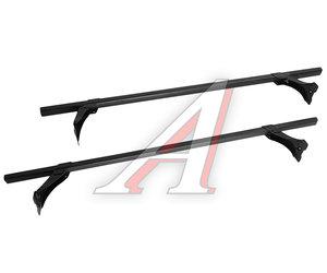 Багажник ВАЗ-2108-21099,2113-2115 L=1200 (на водосток) прямоугольный черный пластик комплект DELTA D-010-112/Ч