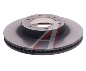 Диск тормозной TOYOTA Land Cruiser Prado (02-09) передний (1шт.) TRW DF4494, 43512-60150