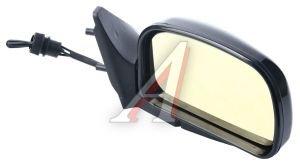 Зеркало боковое ВАЗ-2108 правое антиблик желтое люкс Политех-Р-9рта/СПп, 2108-8201050