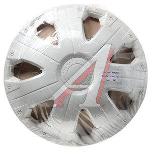 Колпак колеса R-16 декоративный белый комплект 4шт. РАСИНГ ГАЗЕЛЬ РАСИНГ ГАЗЕЛЬ бл R-16