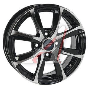 Диск колесный литой FORD Fiesta (08-) R15 FD128 BKF REPLICA 4х108 ЕТ47,5 D-63,3