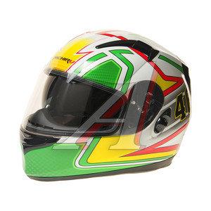 Шлем мото (интеграл) MICHIRU Forty-six (с солнцезащитным стеклом) MI 162 L, 4680329005632