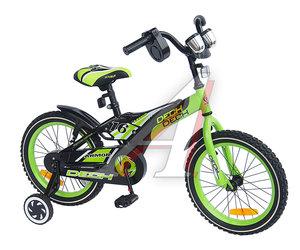 """Велосипед 16"""" 1-ск. (4-6 лет) зеленый ARMOR DECH TOTEM JKC1536-16"""