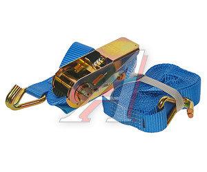 Стяжка крепления груза 0.8т 5м-25мм (полиэстр) KRAFT 0163, 25.04.1.0.5000
