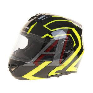 Шлем мото (модуляр) MICHIRU Tron Green (с солнцезащитным стеклом) MF 120 M, 4680329006424
