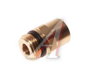 Соединитель трубки ПВХ,полиамид d=8мм (наружная резьба) М16х1.5 прямой латунь CAMOZZI 9512 8-M16X1.5, 893 800 001 2