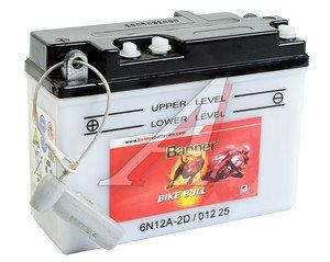 Аккумулятор BANNER Bike Bull 12А/ч 3СТ12 6N12A-2D 012 025 008