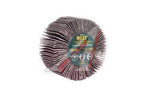 Круг зачистной лепестковый радиальный 80х40мм Р80 FIT FIT-39604, 39604,