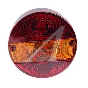 Фонарь габаритный задний универсальный круглый правый INTERPLAS 2322LR, 0021RL