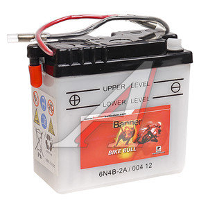 Аккумулятор BANNER Bike Bull 2А/ч 3СТ2 6N4B-2A 004 014 001