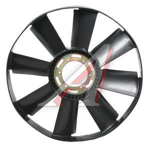 Вентилятор КАМАЗ-ЕВРО 660мм (дв.740.30,31 до 2007 г.) с обечайкой в сборе 7482-1308010