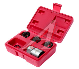 Набор инструментов для восстановления резьбы шпилек колес (М12х1.25, М12х1.5, М14х1.5) в кейсе JTC JTC-5201