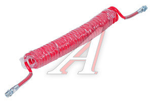 Шланг пневматический витой М22 L=7.5м (красный) (t=-45+50) СМ AIR FLEX М22 L=7.5м (красный), СМ452.711.006.0, 64221-3506380