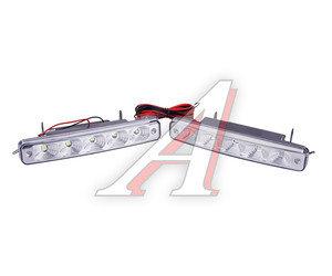 Огни ходовые дневного света LED 5 светодиодов 12V 12V-5A