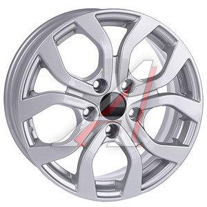 Диск колесный литой KIA Ceed (12-) R16 КС-704 Сильвер K&K 5х114,3 ЕТ50 D-67,1
