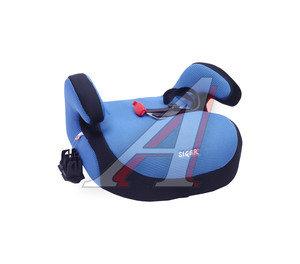 Подушка авт.детская БУСТЕР 22-36кг (III) 6-12лет синяя Isofix SIGER 00000000138, KRES0188