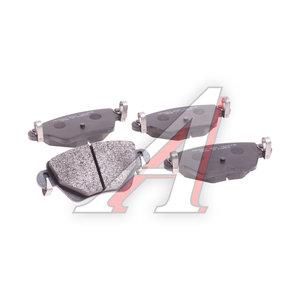 Колодки тормозные FORD Mondeo 3 (00-07) JAGUAR X-Type (03-) RENAULT Kangoo (02-) задние (4шт.) HSB HP9507, GDB1525, 1121895