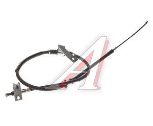 Трос стояночного тормоза SSANGYONG Actyon Sports (06-/12-) задний левый (барабанные тормоза) OE 4901032102