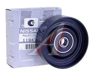 Ролик приводного ремня NISSAN Maxima,Primera,Sunny натяжителя кондиционера OE 11947-31U05, 11947-0W000