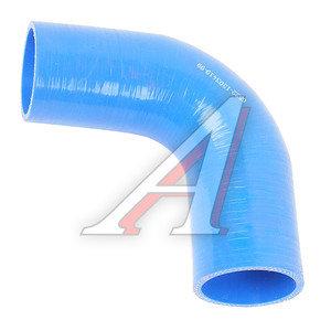 Патрубок КАМАЗ-ЕВРО радиатора синий силикон (L=150мм,d=60) 6522-1303419-99