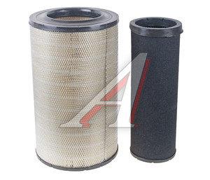Элемент фильтрующий КАМАЗ воздушный ЕВРО-3 комплект TSN 725-1109560 9.1.455/6, 9.1.455/6,