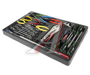Набор инструментов для тележки инструментальной JTC-3931 (1-я секция) 25 предметов JTC JTC-39311