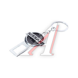 Заглушка ремня безопасности брелок с логотипом NISSAN 13492