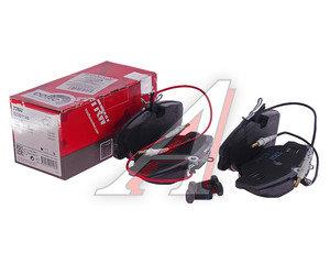 Колодки тормозные PEUGEOT 806,Expert CITROEN Jumpy FIAT Scudo передние (4шт.) TRW GDB1148, 4251.10/4251.09/9946015