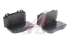 Колодки тормозные MERCEDES (W163) (98-05),W220 (98-05),W129 передние (4шт.) HSB HP5148, GDB1454, A1634200820