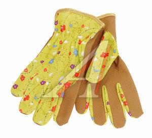 Перчатки микрофибра комбинированные с тканью SPRING р.7 ELEMENTA GARDEN SENSES AC-432-7