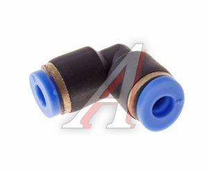 Соединитель трубки ПВХ,полиамид d=4мм угольник PUL04, АТ-340
