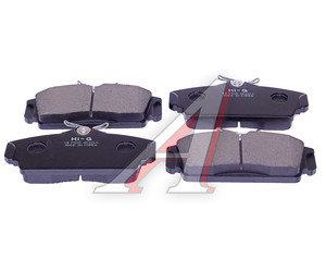 Колодки тормозные NISSAN Almera (N16),Primera (P11) передние с АБС (4шт.) SANGSIN SP1482, GDB3168, 41060-BM525/D1060-BM50A