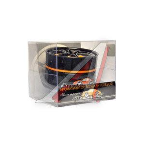 Ароматизатор на панель приборов гелевый (лимон) фигура Колесо 60мл Колесо Фортуны Orange АВТОСТОП AB-73700ORL