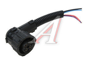 Штекер МАЗ угловой (4 провода, байонет) 1845-967325-4,