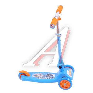 Самокат 3-х колесный детский Hot wheels 1TOY T57630