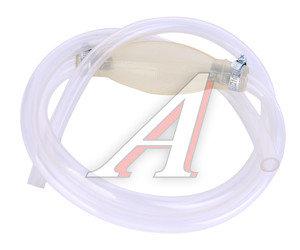 Шланг для перекачки топлива 15ммх1.5м груша 2 хомута прозрачный силиконовый Балаково ШЛАНГ-15х1,5*, 12224