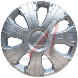 Колпак колеса R-15 декоративный серый комплект 4шт.РАСИНГ РАСИНГ R-15