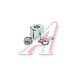 Ремкомплект трубки тормозной пластиковой d=8х1.5 (1гайка,1штуцер,1шайба) РК-ТТП-d8х1.5