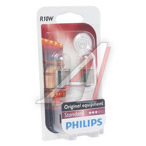 Лампа 24V R10W BA15s блистер 2шт. PHILIPS 13814B2, P-13814-2бл