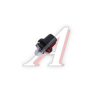 Лампа 12V BAX 1.2W B8.5d с черным патроном NARVA 17035, N-17035
