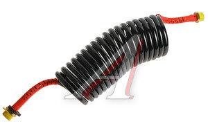 Шланг пневматический витой М22 L=4.5м (красный) WABCO 452 711 004 0, 4527110580