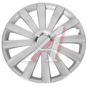 Колпак колеса R-17 декоративный серый комплект 4шт. СПАЙДЕР СПАЙДЕР R-17