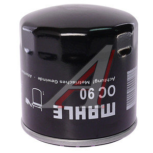 Фильтр масляный DAEWOO Nexia CHEVROLET Lanos (сервисная упаковка) MAHLE OC90OF, 96879797
