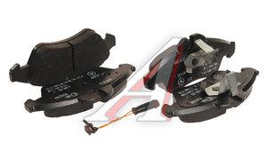 Колодки тормозные MERCEDES Sprinter (901,904) (95-06) VW LT 28,46 (96-) передние (4шт.) OE A0084204220, GDB1220