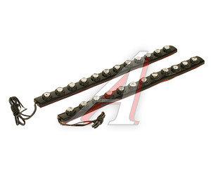 Огни ходовые дневного света LED 12 светодиодов с гибким корпусом 2шт. KS-HF-412